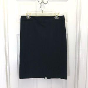 Ann Taylor LOFT Women's Black Pencil Skirt